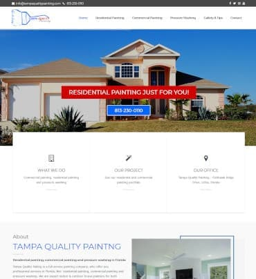 Residential and commercial painting In Tampa, Florida